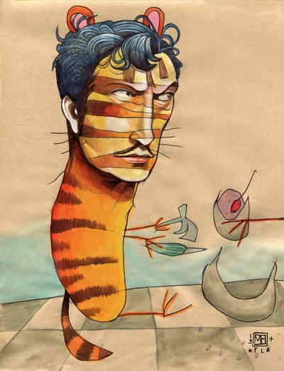 tigermanandolive